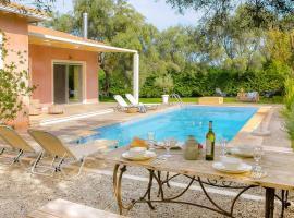 Agia Marina Villa Sleeps 4 Air Con WiFi, Lefkada Town