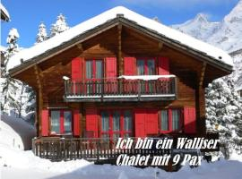 Saas-Fee Apartment Sleeps 9 WiFi, Saas-Fee