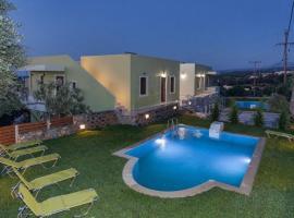 Dilofo Villa Sleeps 4 Pool Air Con WiFi, Maroulás