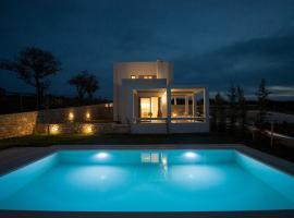 Panormos Villa Sleeps 4 Pool Air Con WiFi, Panormos Rethymno