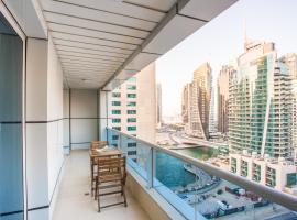 Deluxe Marina One Bedroom Balcony Apartment, Dubaj