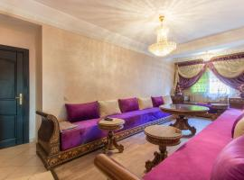 the luxurious Moroccan Apart, Marrakesch
