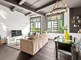 Newly renovated loft style apartment in Britomart, Окленд