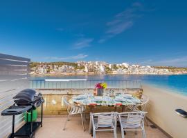 Blue Harbour Penthouse - Saint Paul's Bay, San Pawl il-Baħar