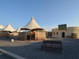 Misfat camping site, Al Ḩamrā'