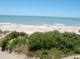 Regio departamento sobre la playa con vista al mar, Villa Gesell