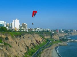 Luxury 2BR APT BARRANCO Pocket WIFI Great 4 Business/Family, Lima