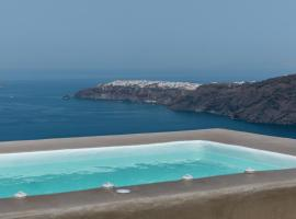 The 360° Caldera view house by Caldera Houses, Imerovíglion