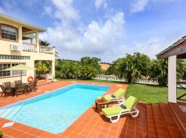 Cap Estate Villa Sleeps 10 Pool Air Con WiFi, Cap Estate