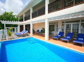 Cas en Bas Villa Sleeps 8 Pool Air Con WiFi, Cap Estate