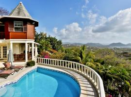 Cap Estate Villa Sleeps 8 Pool Air Con WiFi, Cap Estate