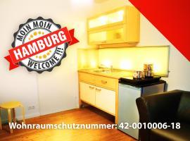 Moin moin Hamburg Zimmer mit Küche - 13min vom Hbf