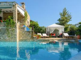 Elia Villa Sleeps 8 Pool Air Con WiFi, Elia
