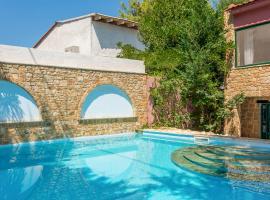 Elia Villa Sleeps 6 Pool Air Con WiFi T720387, Elia
