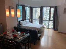 Amazing location Bonifacio Global City BGC studio., Manila