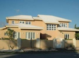 Modern, state of the art sea view villa in Malmok, Palm Beach