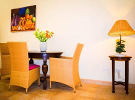 Spacious apartment near Palm Beach with POOL!, Noord