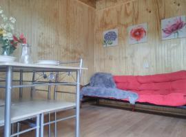 Hermosa y acogedora cabaña individual a 10min del centro., Valdivia