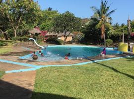 Twiga in the sun, Malindi