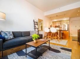 Luxe, Quiet, Bright 1br in Prime Williamsburg #subway #getaway, Бруклин