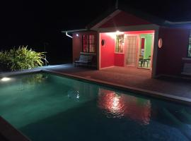 Tropical home with swimming pool, Scarborough