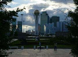 Новая двухкомнатная квартира в центре Астаны, Astana