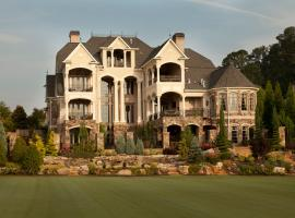 Gorgeous Mansion in Exclusive Gated Country Club - VIP PARTY PASS included - 45 minute drive to Mercedes Benz Stadium!, Alpharetta