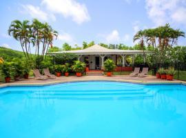 Villa avec piscine et vue mer (MQRO08), Le Robert