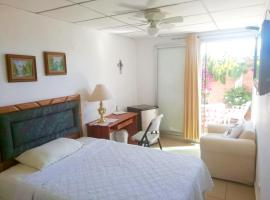 Beautiful & Spacious Terrace Room w/a Garden, San Salvador