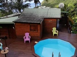Holiday home La haut Matouba, Deshaies