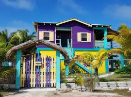 Slo-N-EZ Villa- Upstairs(Ocean View), Caye Caulker