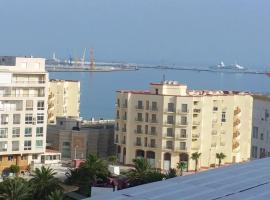 Apartment Tanger Penthouse duplex with sea view, Tanger