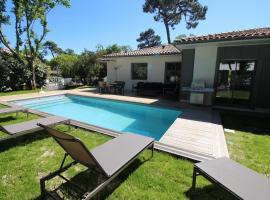 Belle Villa pour 11 personnes avec piscine chauffée, Arcachon