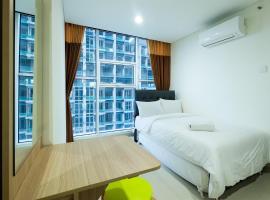 Cozy 1BR Brooklyn Alam Sutera Apartment near IKEA By Travelio, Dongkal Dua