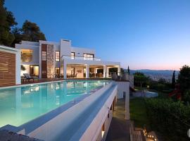 Sodi Villa Sleeps 12 Pool Air Con WiFi, Chania