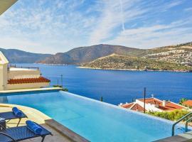 Kalkan Villa Sleeps 8 Pool Air Con WiFi, Kalkan