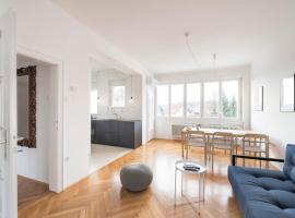 Levstikova Two-Bedroom Apartment, Lublana