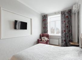 New 2 bedrooms on Deribasovskay Str, Odessa