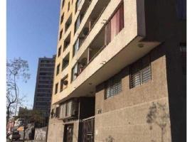Departamento Manuel Rodríguez con wifi, Сантьяго