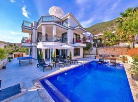 Kalkan Villa Sleeps 6 Pool Air Con WiFi T751293, Kalkan