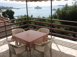 Studio apartment in Orebic with Seaview, Terrace, Air condition, WIFI (4669-5), 奥瑞比克