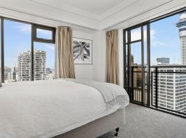 Spectacular City Views in 2 Bedroom Apartment, Auckland