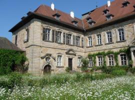 Ferienzimmer im Schloss Burgpreppach