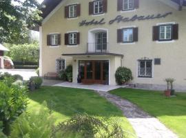 Hotel - Garni Stabauer, Мондзее