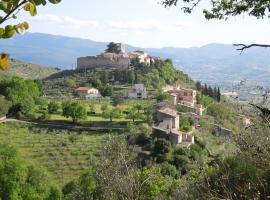 Borgo Campello, Campello sul Clitunno