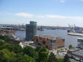 Ferienwohnung Hamburg Hafenblick