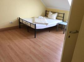Doppelbettzimmer mit Bad