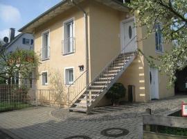 Apartment in Freiburg-Gundelfingen mit Garten