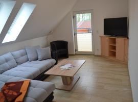 Appartement Dachgeschoss