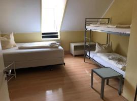 Doppelbett Zimmer mit Bad